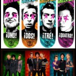 Decks da banda  Green Day – 2013