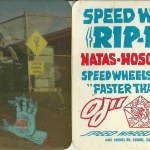 Adesivo Speed Wheels – Santa Cruz  1986