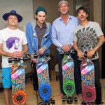 Decks da Banda Red Hot Chilli Peppers – 2013