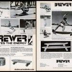 Skateboard  Brewer – 1976