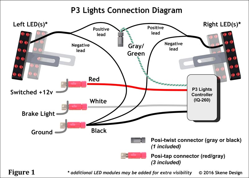 Stop Light Wiring Diagram 12v Led Car Electronic Schematics