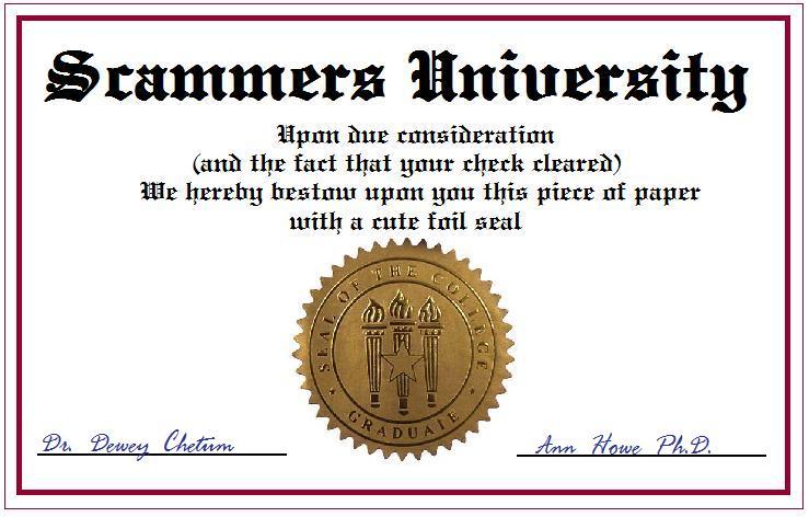 Fake Diplomas \u2022 Skeptical Science