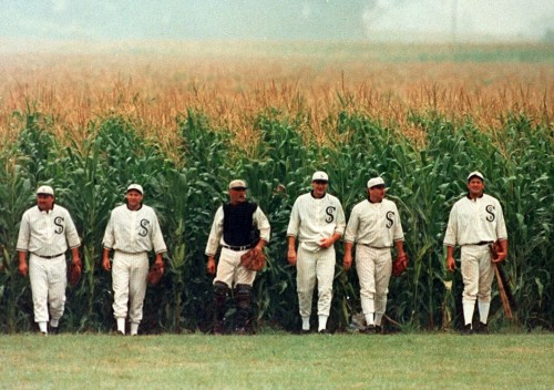 GMO corn producing baseball players.