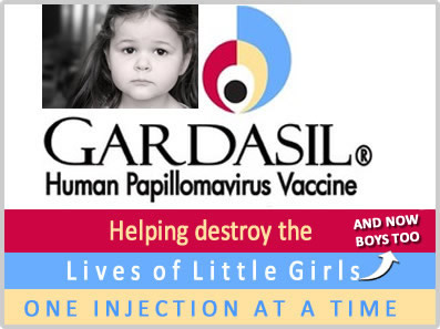 The best the anti HPV vaccine cult can do–a ridiculous image.