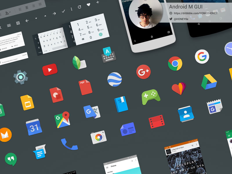 free android design templates