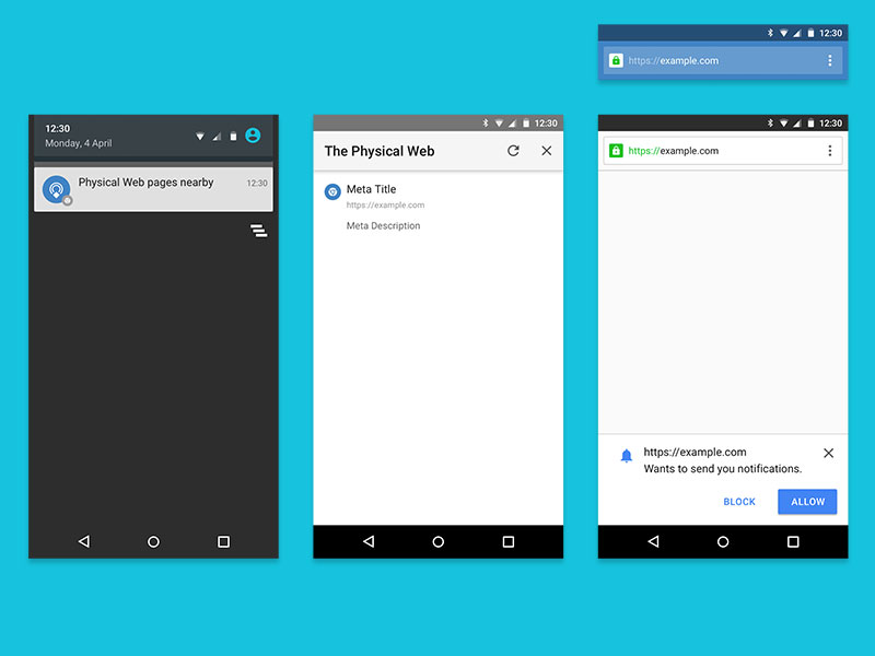 Android Web Browser Template Sketch freebie - Download free resource - Free App Template