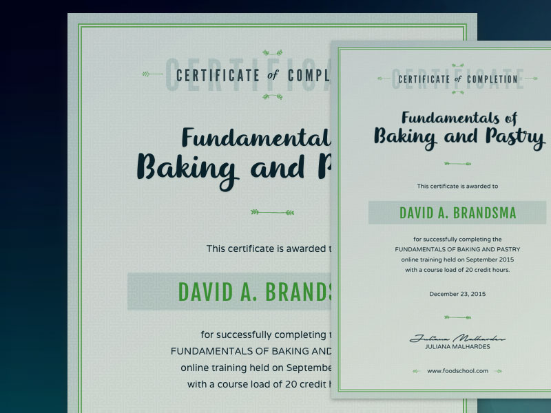 Certificate Template Sketch freebie - Download free resource for