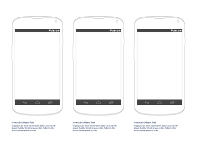 Android Nexus 4 Wireframe Sketch freebie - Download free resource - android template