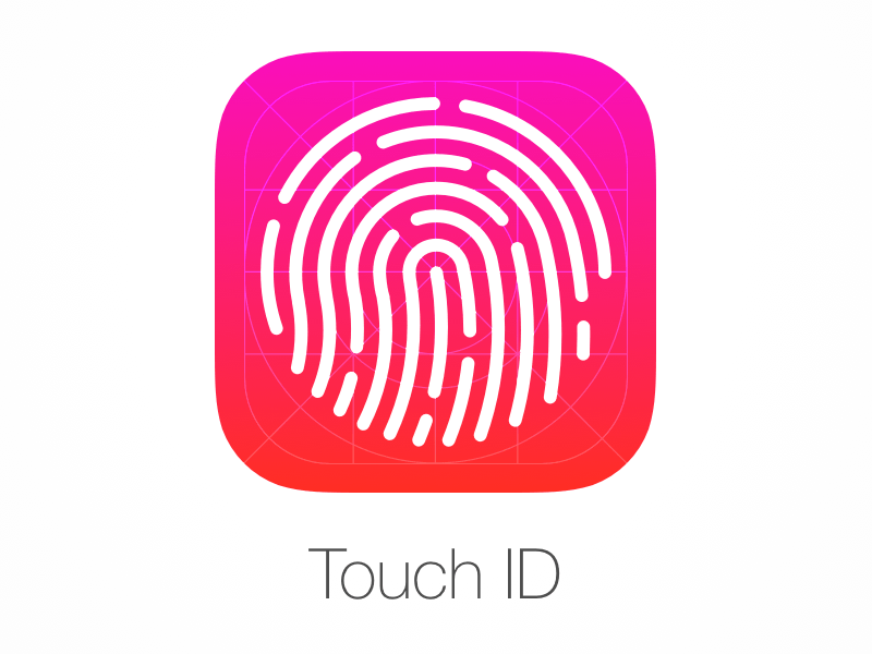 Iphone Wallpaper Icon Template Touch Id Sketch Freebie Download Free Resource For