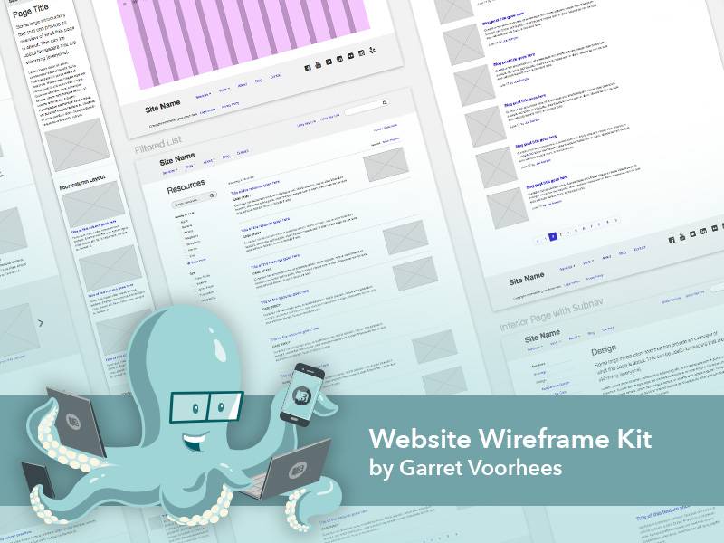 Free Wireframe Template Sketch freebie - Download free resource for - wireframe templates