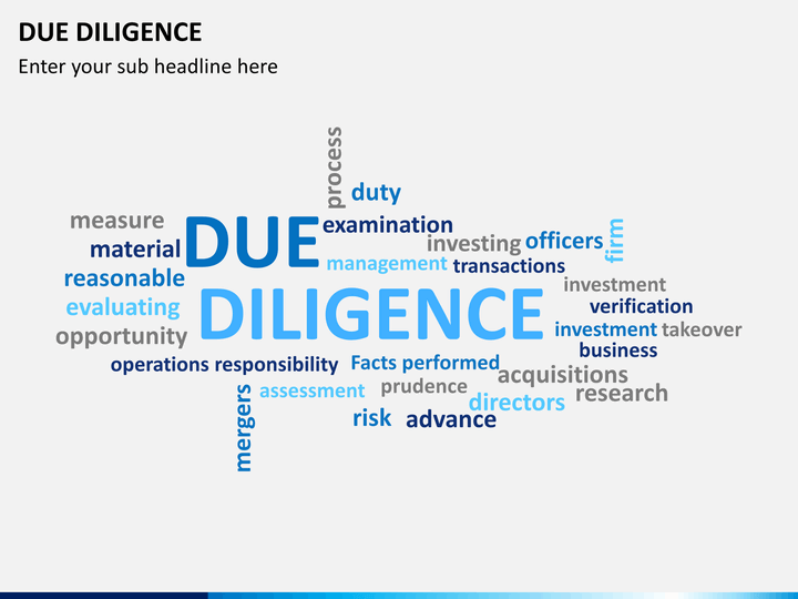 due diligence templates