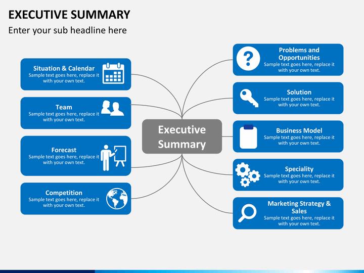 Best Executive Summary Template – Free Executive Summary Template