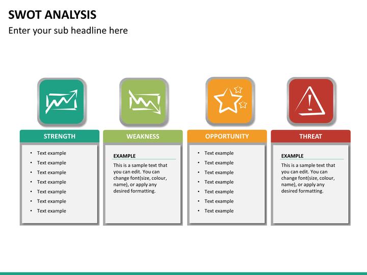 free swot analysis templates powerpoint