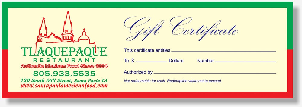 Gift Certificate Designs SketchPad Graphic Design