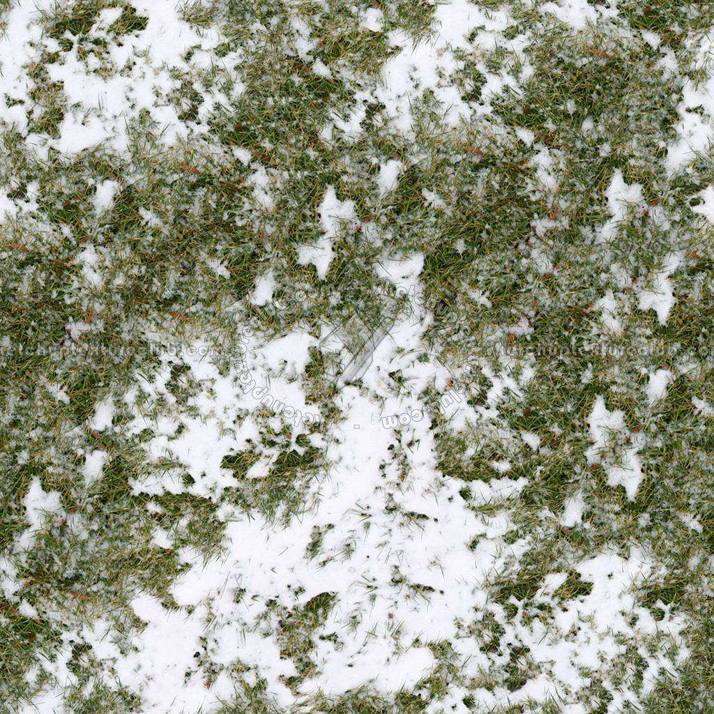 Wallpaper Stone 3d Snow With Grass Texture Seamless 12793
