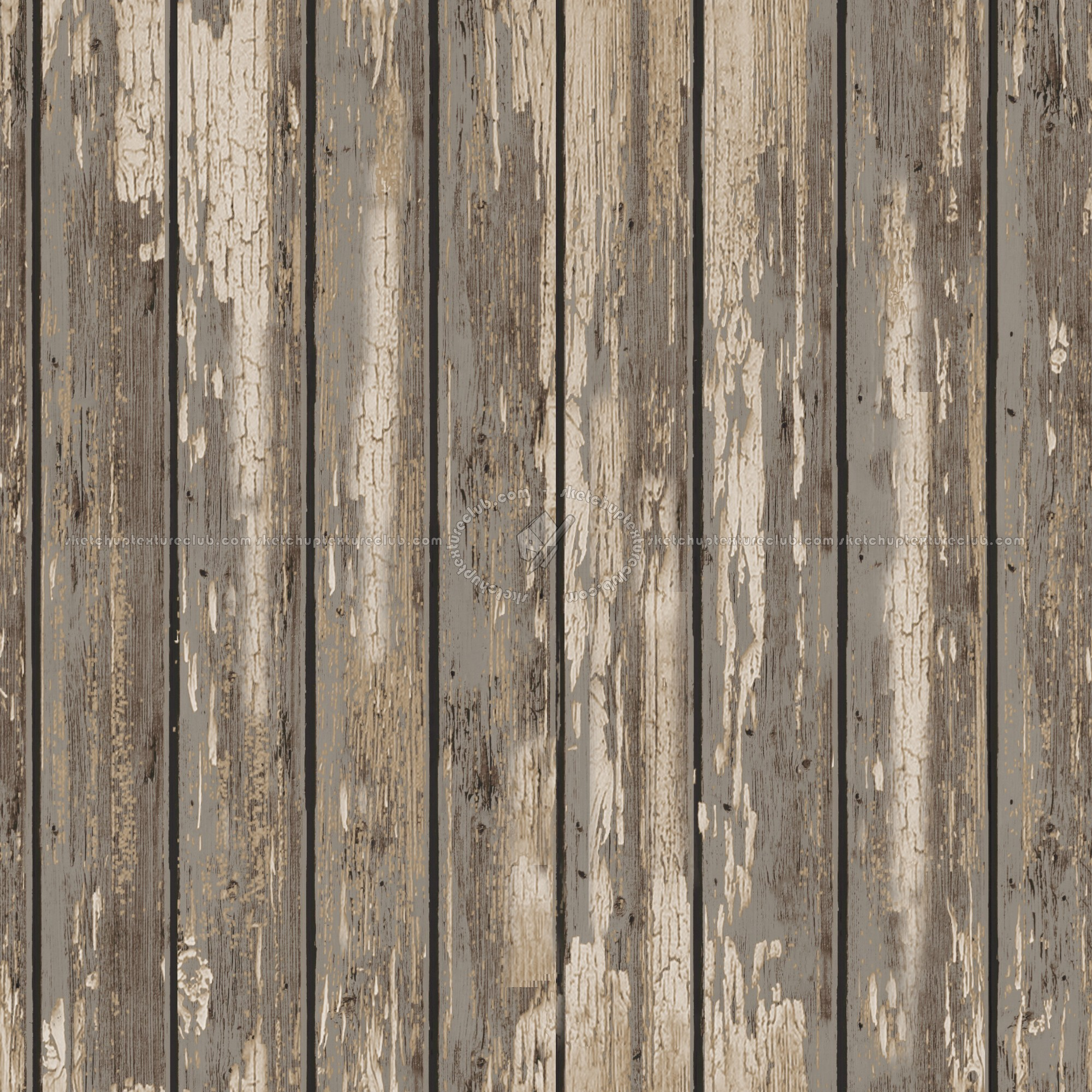 3d Damask Wallpaper Varnished Dirty Wood Plank Texture Seamless 09148