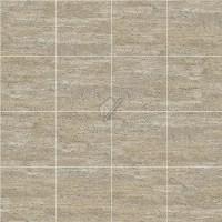 Roman travertine floor tile texture seamless 14740