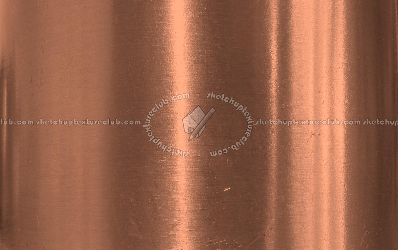 Black Damask Wallpaper Copper Shiny Brushed Metal Texture 09886