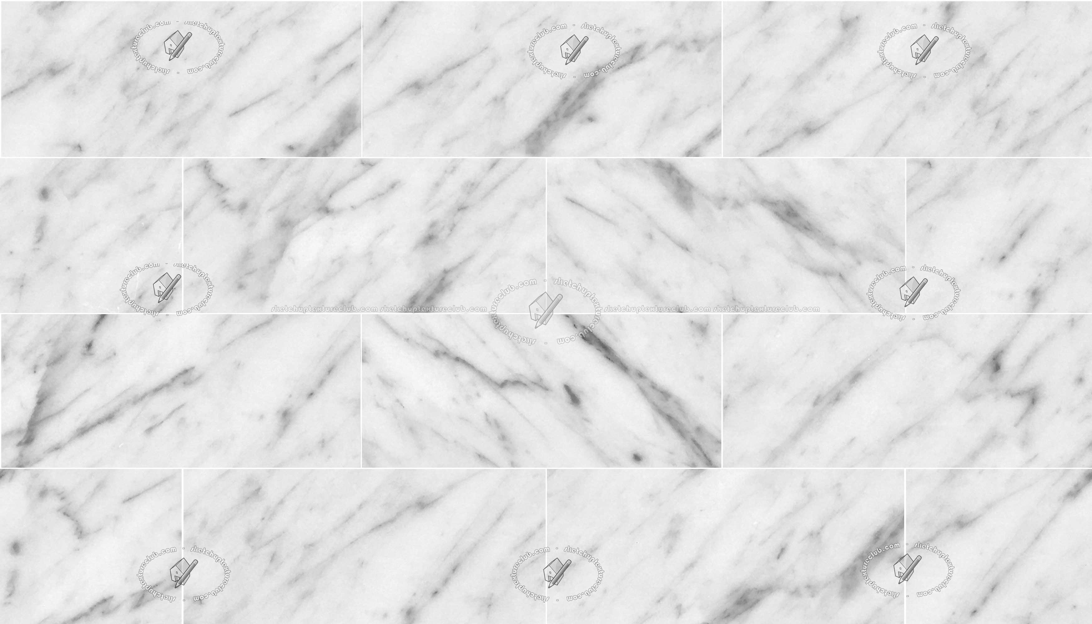 Wallpaper Black And White Damask Carrara White Marble Tile Veined Texture Seamless 20918