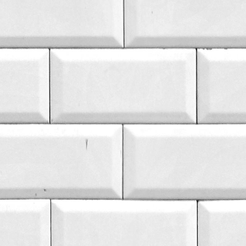 3d Grey Brick Effect Wallpaper White Metro Bricks Texture Seamless 00511
