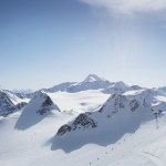 Where you can go summer glacier skiing in the Alps