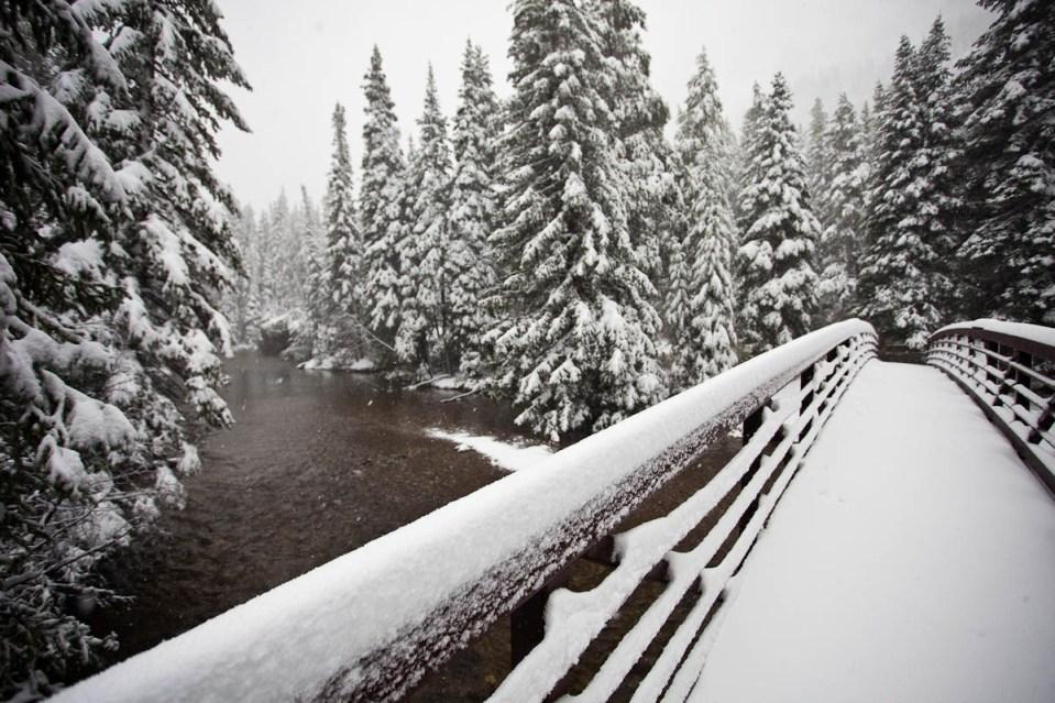 early season snowfall in Coilorado
