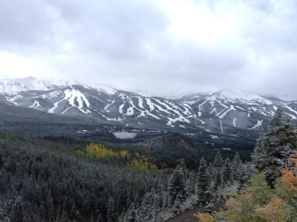 First Snow at Beaver Creek, Early Season Snowfall Colorado, Early Season Snow at Beaver Creek.