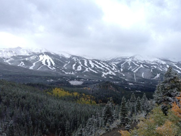 First Snow at Beaver Creek, Early Season Snowfall Colorado, Early Season Snow at Beaver Creek.