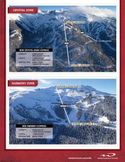 Whistler Blackcomb New Chairlifts