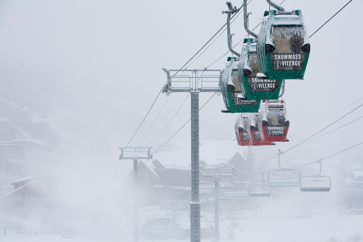 Gondolas at Snowmass | Photo: Aspen/Snowmass, Jeremy Swanson