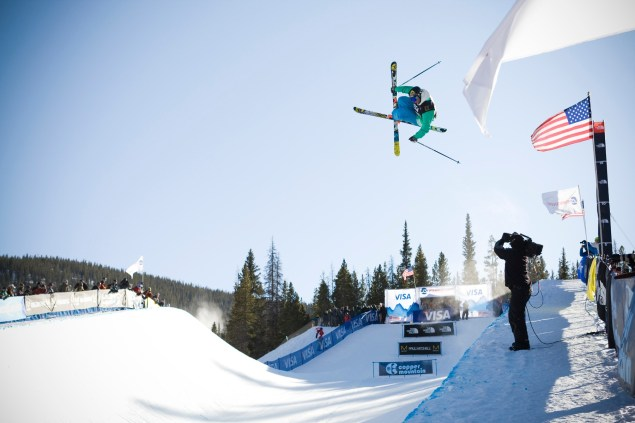 David Wise - Freeskiing Halfpipe 2011 Visa U.S. Freeskiing Grand Prix Halfpipe skiing qualifiers Photo © Tom Zikas