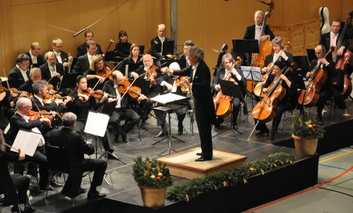 The Engadin Symphony Orchestra with ist top-class musicians invariably delivers performances to remember.  Copyright by: ENGADIN St. Moritz By-line: swiss-image.ch/Rahpaël Vergeres