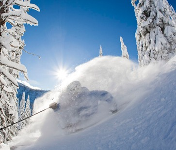Whisterwater powder skiing, Whitewater powder, Whitewater British Columbia, Whitewater ski resort