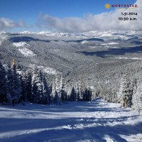 Northstar new snow