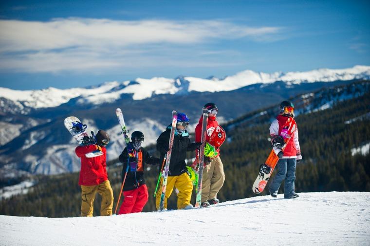 Snowboard lesson Buttermilk