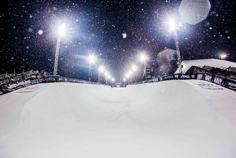 Buttermilk X Games Halfpipe