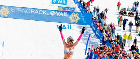 World Pond Skimming Championships at Spring Back to Vail