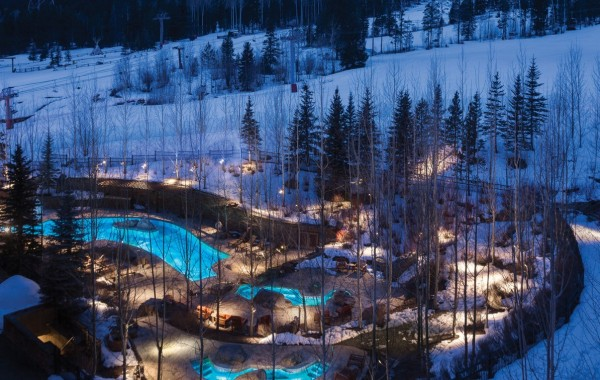 Jackson Hole Four Seasons hot tub, Jackson Hole Four Seasons pool