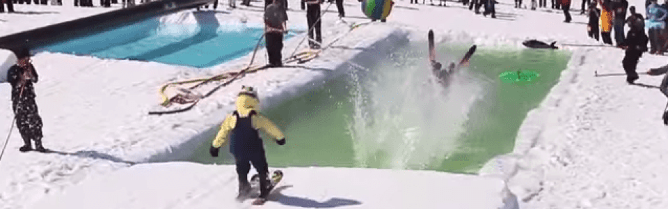 Video Big Sky Pond Skim