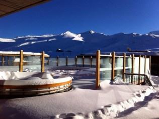 Valle Nevado snow