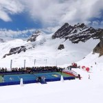 Atop the Jungfraujoch: Snow, Chocolate and… Tennis?