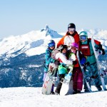 5 days with the family at Whistler Blackcomb