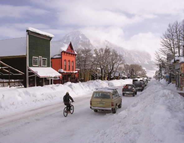 Crested Butte Elk Avenue, historic Crested Butte, downtown Crested Butte