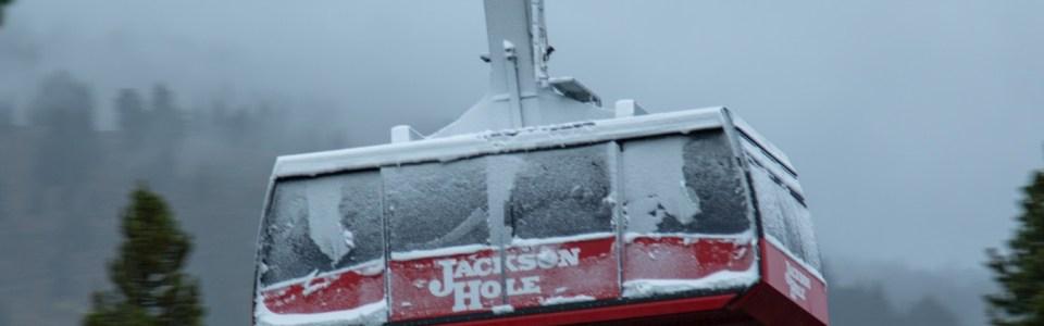 September snow Jackson Hole