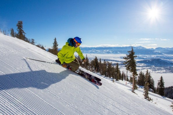 Laramie Bowl will please groomer lovers who have a need for speed. | Photo: Jackson Hole Mountain Resort