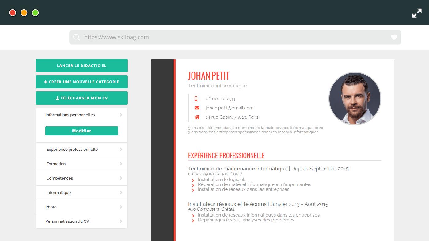 creer cv en ligne gratuit comment ca marche