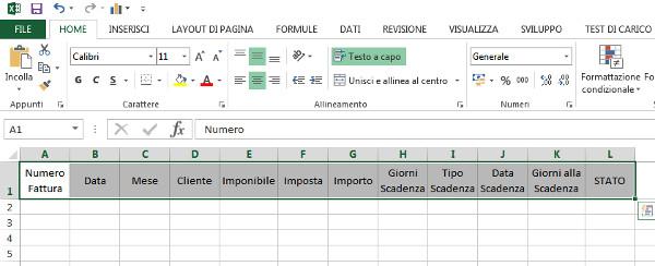Excel delle Meraviglie Lezione 6 - Come creare uno Scadenziario Clienti