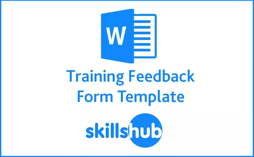 A Useful Training Feedback Form Template - training feedback form