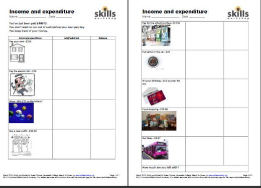 Worksheets Independent Living Skills Worksheets free printable bill payment checklist leather sectional independent living skills worksheets