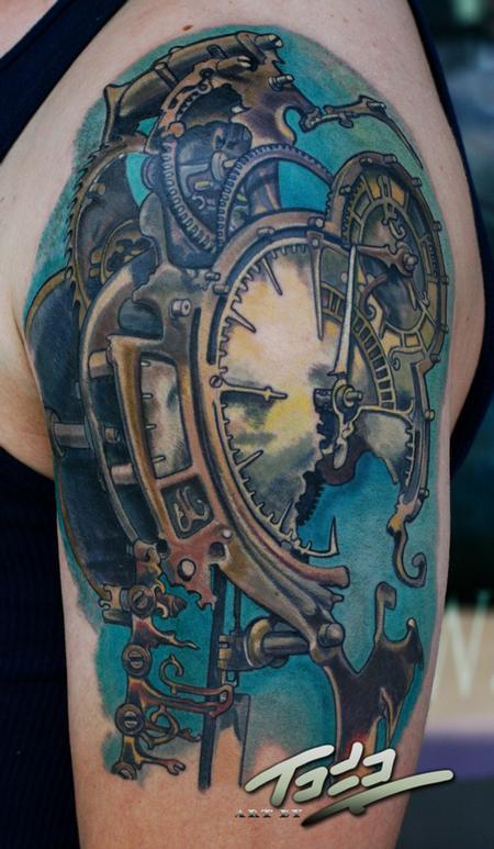 Steam Punk Tattoos Skinart Tattoo Training Academy